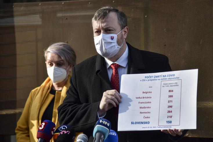 Stabilan csökken a fertőzöttség a szlovákiai szociális otthonokban