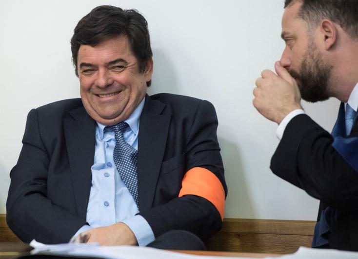 Ritkán látni ennyi grimaszt, amit Kočner a bíróságon produkált (FOTÓK)