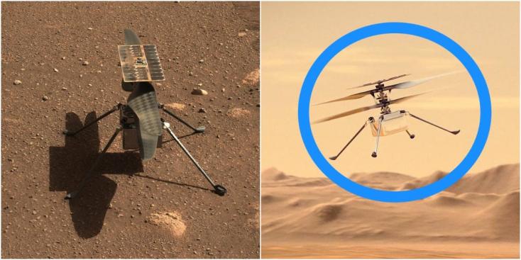 Nem sikerült felemelkednie negyedik próbarepülésén a NASA helikopterének a Marson
