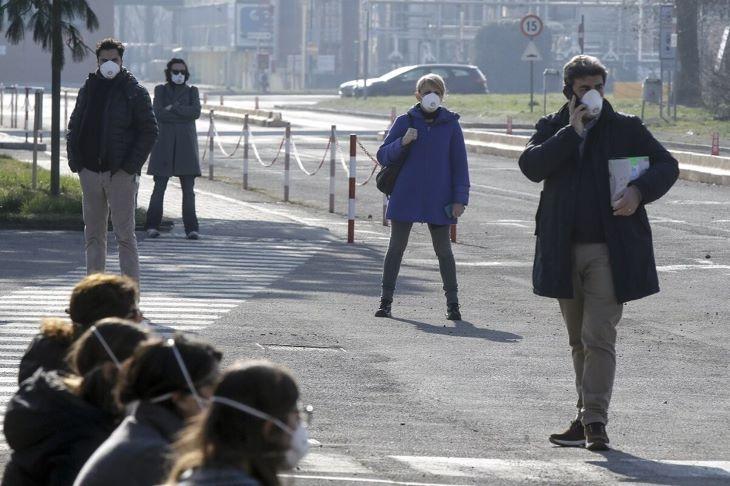 Emelkedett a koronavírus halálos áldozatainak száma, nőtt a fertőzések száma is Észak-Olaszországban