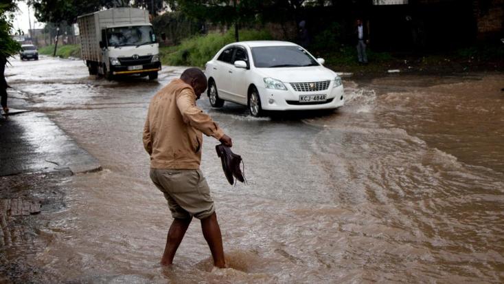 Több turista meghalt egy villámárvízben egy kenyai nemzeti parkban