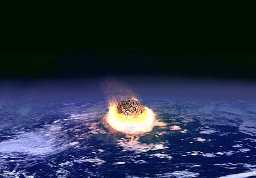 Azért jött el a világvége, mert az aszteroida úgy csapódott be, ahogy