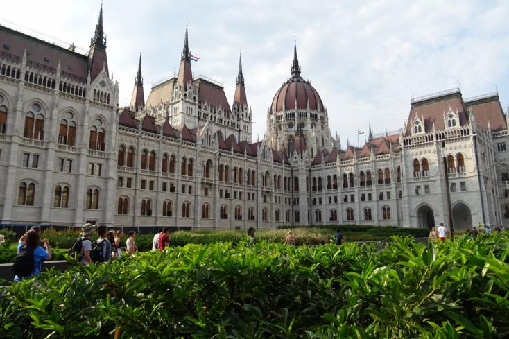 Kövér László vezető orosz politikust fogadott az Országházban