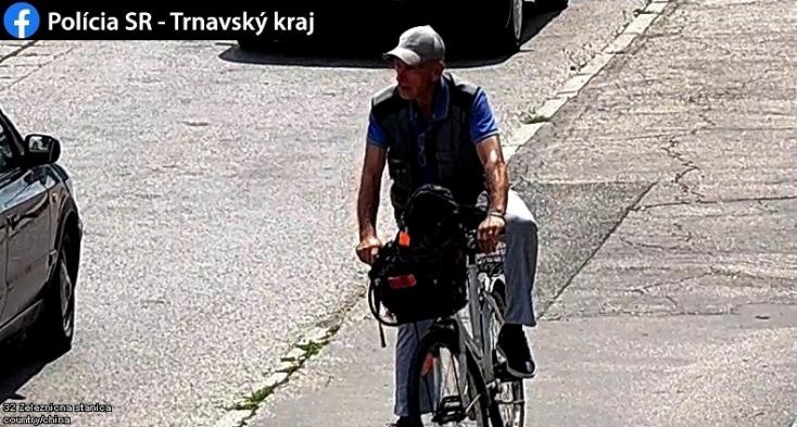 Felismered a bringatolvajt? Ez a fickó Galántán tolta el a kétkerekűt