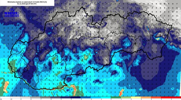 Szlovákiában csaknem mindenhol fagyott az elmúlt éjszaka, de felmelegedés jön!