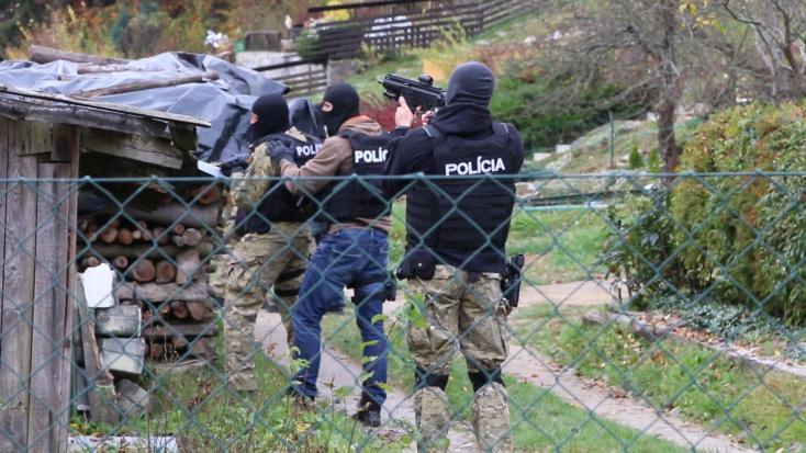 Maszkos és gépfegyveres rendőrök fogták el az élettársát megverő agresszív férfit