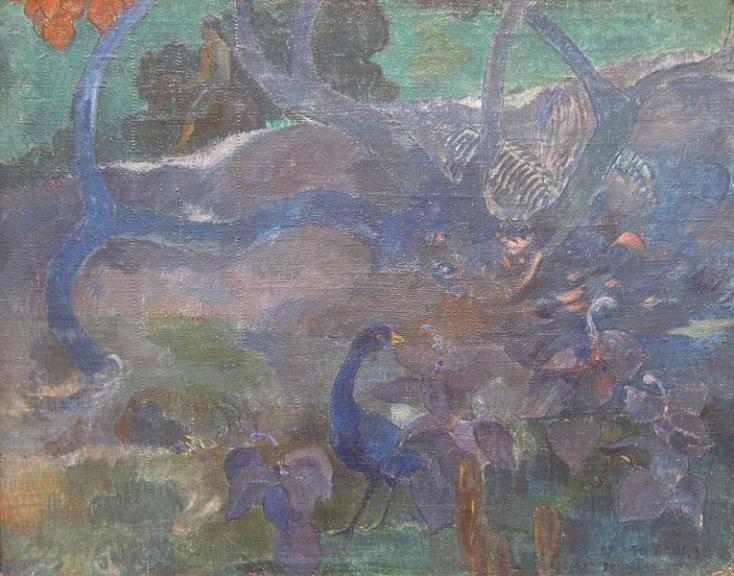 Gauguin egy Tahitin festett művét árverezik el Párizsban