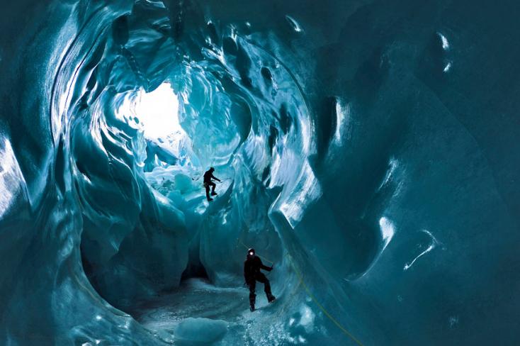 Ismeretlen életformákat rejtenek az antarktiszi jégbarlangok!