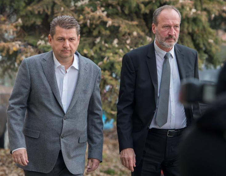 Ma dönt a bíróság Bašternák sorsáról, ő azonban nem jelent meg a tárgyaláson