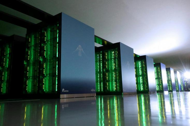 Kilenc év után újra egy japán komputer a világ leggyorsabb szuperszámítógépe