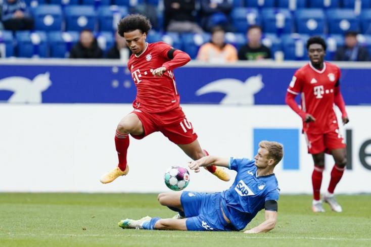 A Bayern München két hétig nem számíthat Sanéra