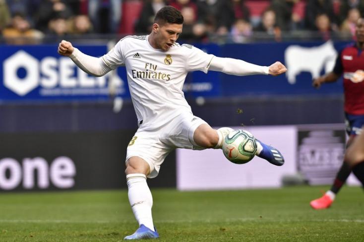 A Real Madrid csatára is koronavírusos