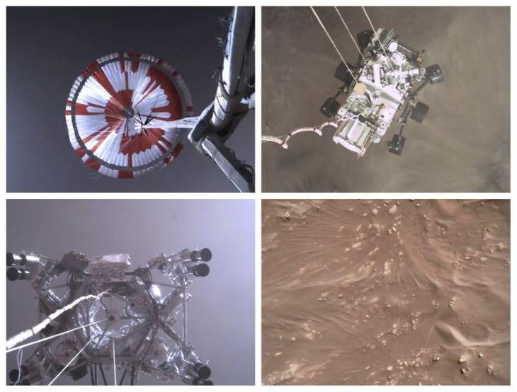 A NASA bemutatta az első jó minőségű videót, amelyet a marsjáró készített leszállásakor (VIDEÓ)