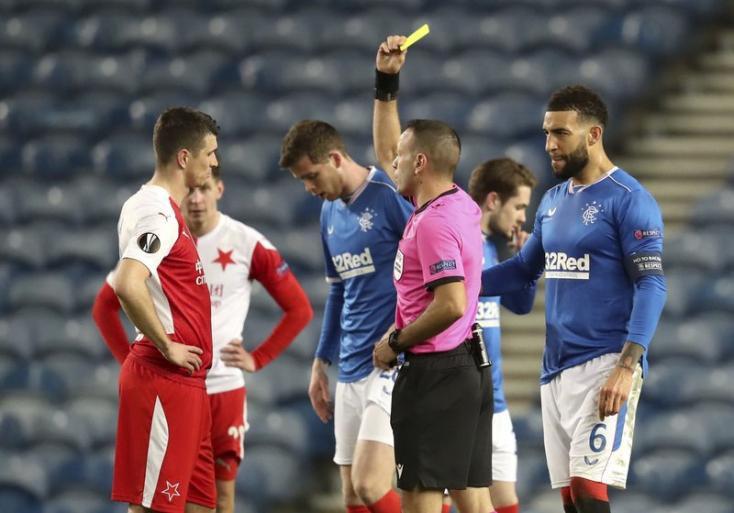 Európa-liga: Tíz mérkőzésre eltiltották a Slavia Praha védőjét