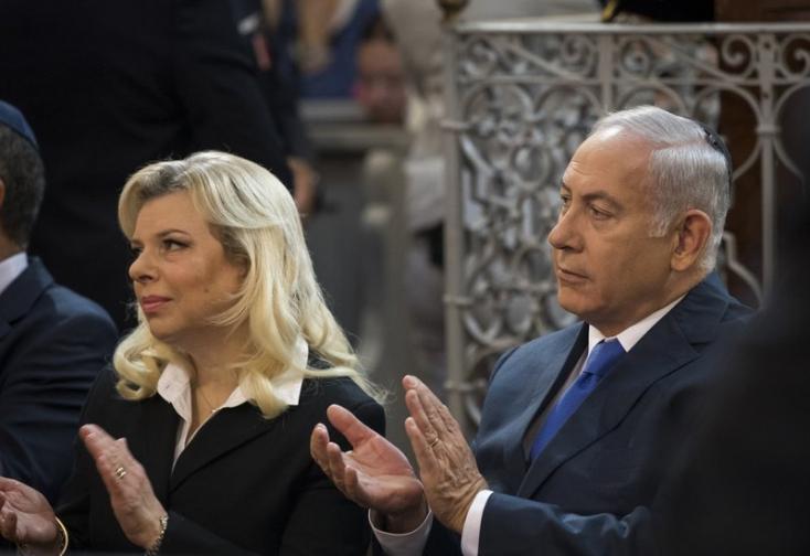 Vádalkut kötött az izraeli miniszterelnök csalással vádolt felesége