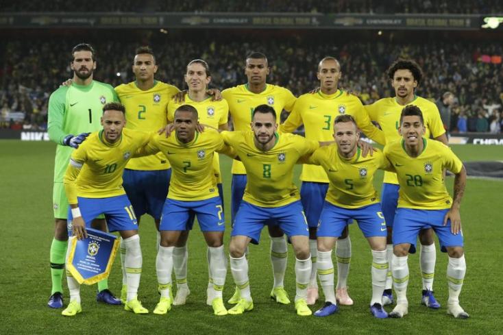 Los Angelesben játszik szeptemberben a brazil válogatott