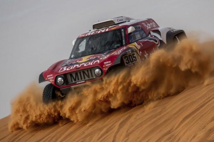 Dakar-rali - Sainz komoly előnyt szerzett a rövidített szerdai szakaszon