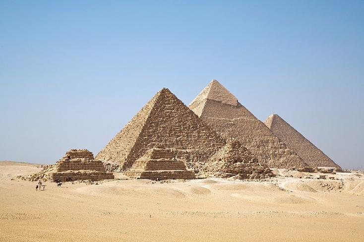 Óbirodalmi temetőt fedeztek fel a gízai piramisok közelében
