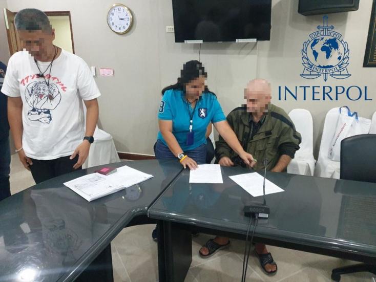 Nemzetközileg körözött szlovákiai bűnözőt kapott el az Interpol Thaiföldön