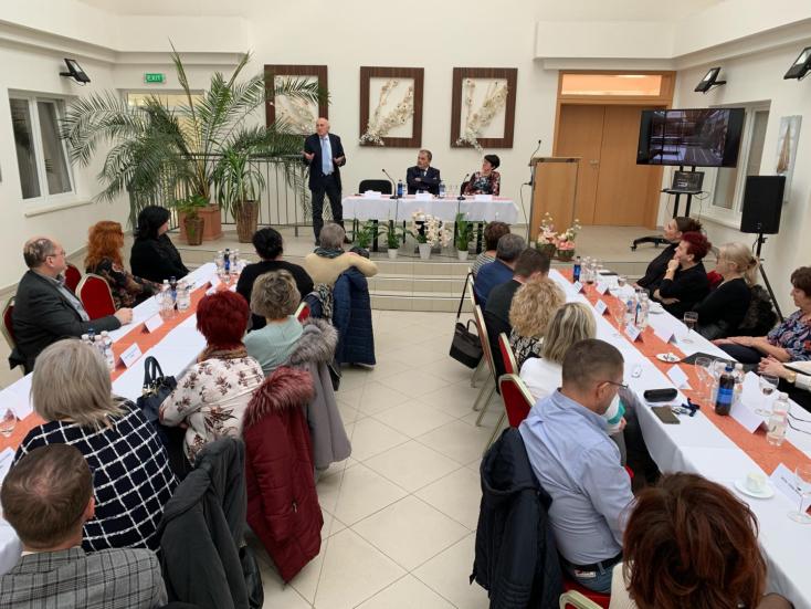 A betegek világnapja alkalmából tartottak szakmai napot Nádszegen