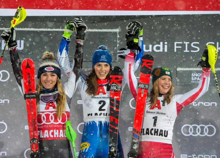 Alpesi vk: Vlhová legyőzte Shiffrint Flachauban
