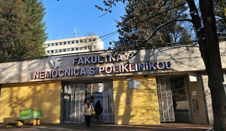 A zsolnai egyetemi kórház 62 dolgozója került házi karanténba