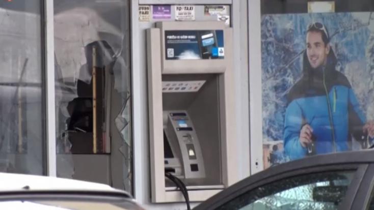 Felrobbantottak egy újabb bankautomatát!