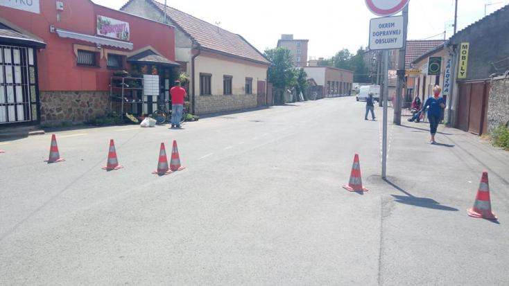 Megnyitják a járműforgalom előtt a Piac utcát Füleken