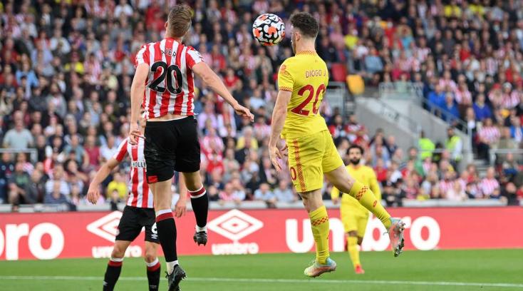 Premier League: Az újonc Brentford döntetlent játszott a Liverpoollal