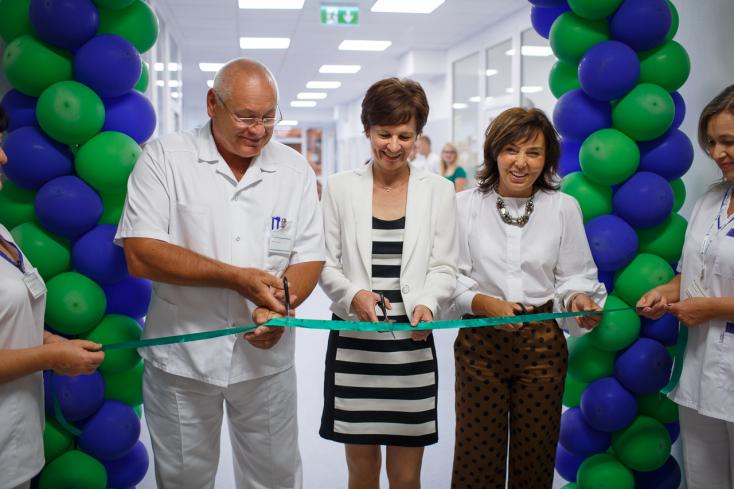 Költözött a büfé és létrejött egy tök új ortopédiai rendelő a dunaszerdahelyi kórházban