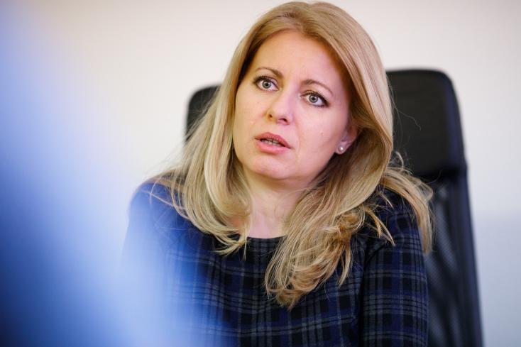 Čaputová tiszteletben tartja a Bírói Tanács szavazásának eredményét, ugyanakkor elvárja a mielőbbi döntést