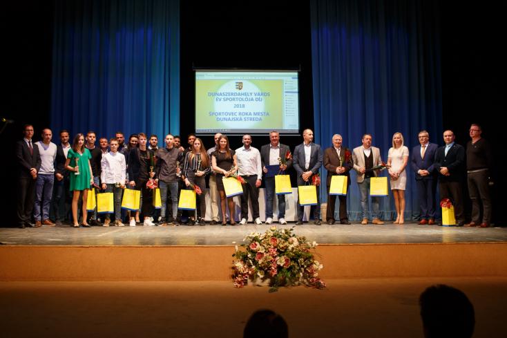 Kihirdették az év legjobb sportolóit Dunaszerdahelyen