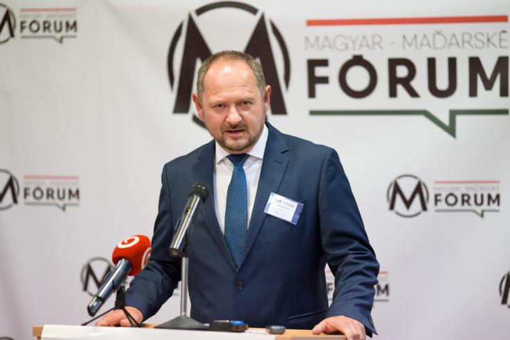 """Simon: """"A magyarok szavazatai nélkül Szlovákia nem lesz jobb ország"""" (VIDEÓ)"""