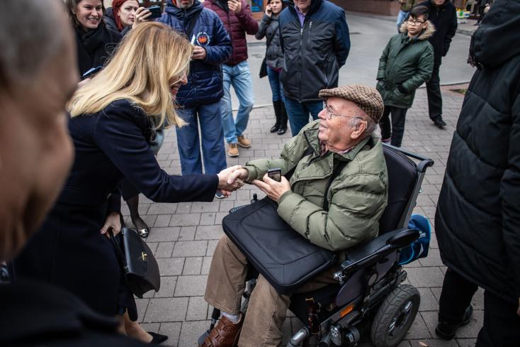 """""""Boldog vagyok, hogy van nekünk"""" - Zuzana Čaputová a lakosokkal, a polgármesterrel és magyar civilekkel is beszélgetett (Videók-Fotók)"""
