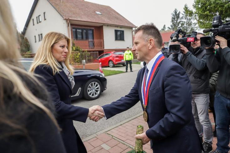 Kisudvarnokba is megérkezett Zuzana Čaputová (VIDEÓ)