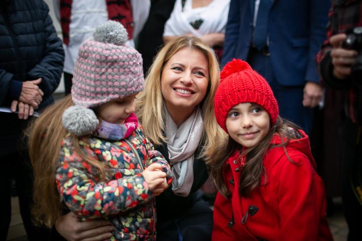 """""""Fontos, hogy minden nemzeti kisebbség otthon érezhesse magát Szlovákiában"""" – Zuzana Čaputová kisudvarnoki látogatása"""