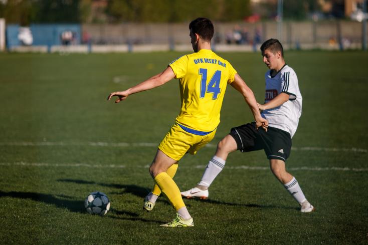 Nyugat-szlovákiai V. liga, keleti csoport, 22. forduló: Ógyallán kétszer rezdült a háló a végjátékban (FOTÓK)