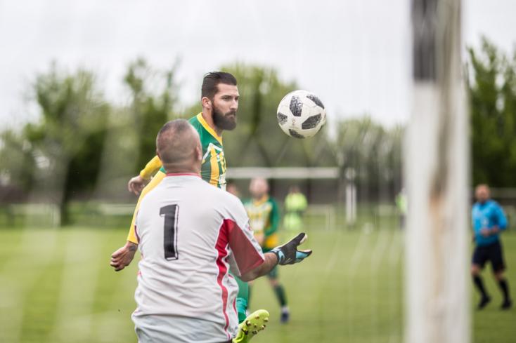 VII. liga, Dunaszerdahely, 22. forduló: Acsallóközkürti Csikmák Gábor mesterhármasa