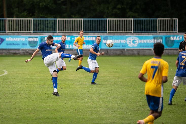 Nyugat-szlovákiai Tipos III. liga, 4. forduló: Kojo Matics volt a bősiek nyerőembere