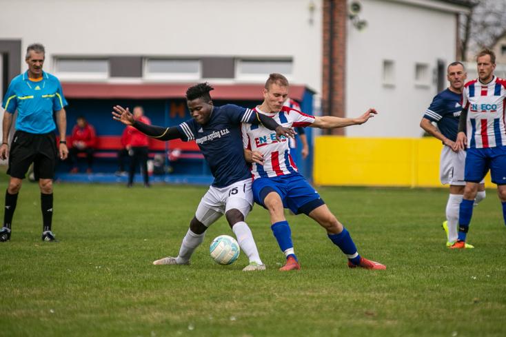 Nyugat-szlovákiai V. liga, Déli csoport, 14. forduló: Jányoki győzelem a felső-csallóközi riválisok viadalán