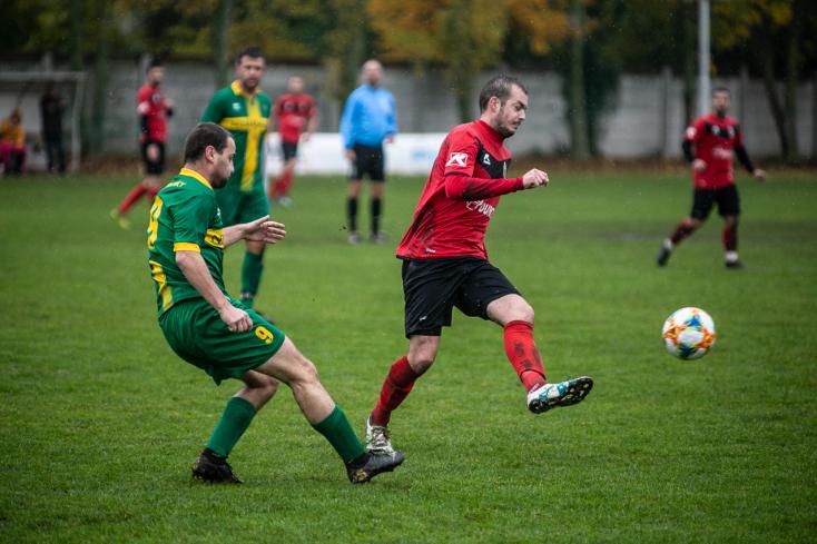 Nyugat-szlovákiai V. liga, Déli csoport, 15. forduló: Kismácsédon gólarányt javított asomorjai STK-fakó