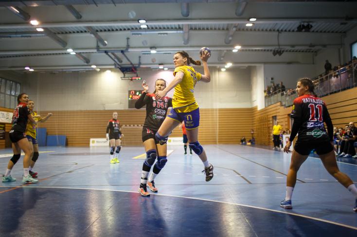 Szlovák kupamérkőzést játszottak a dunaszerdahelyi kézis lányok