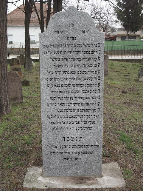 Alistál hitközség rabbijai
