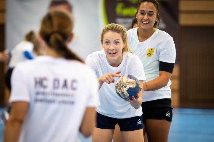 A HC DAC Dunaszerdahely női csapata megkezdte a felkészülést (FOTÓK)