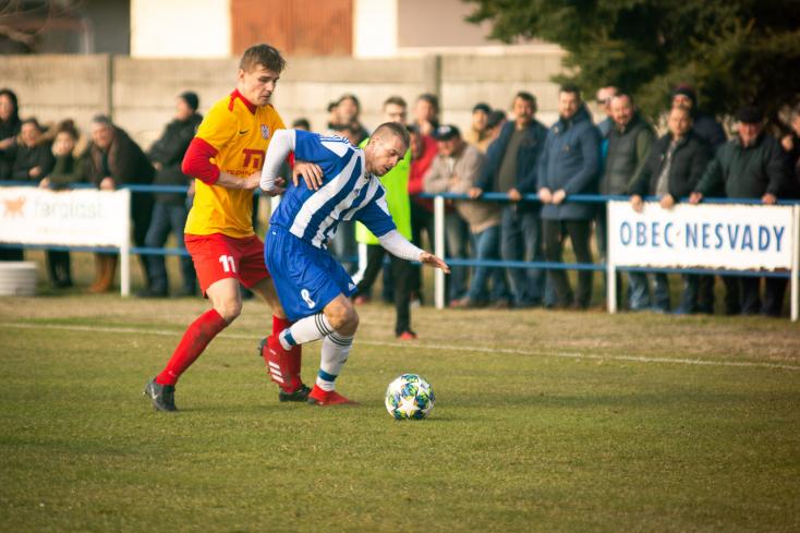 Nyugat-szlovákiai IV. liga, Délkeleti csoport, 16. forduló: Ímelyi siker a szomszédvárak erőpróbáján