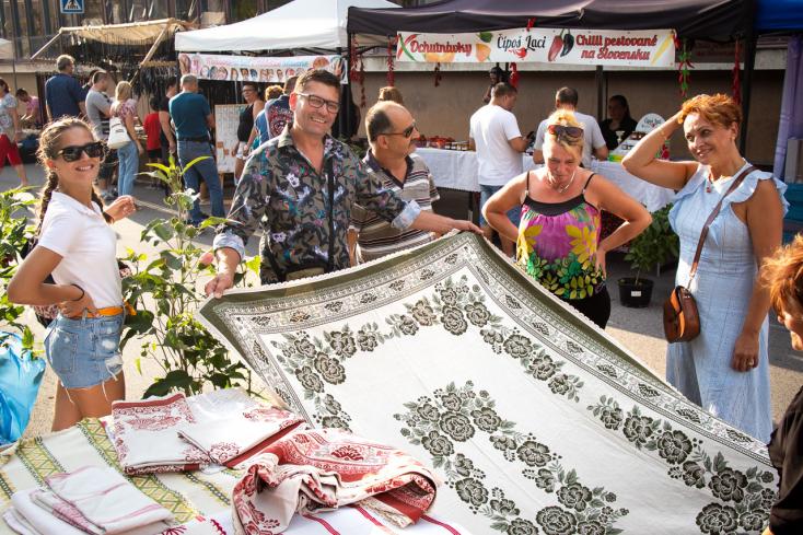 Idén a koronavírus-járvány jegyében zajlott a Porciunkula vásár Érsekújvárban (FOTÓK)