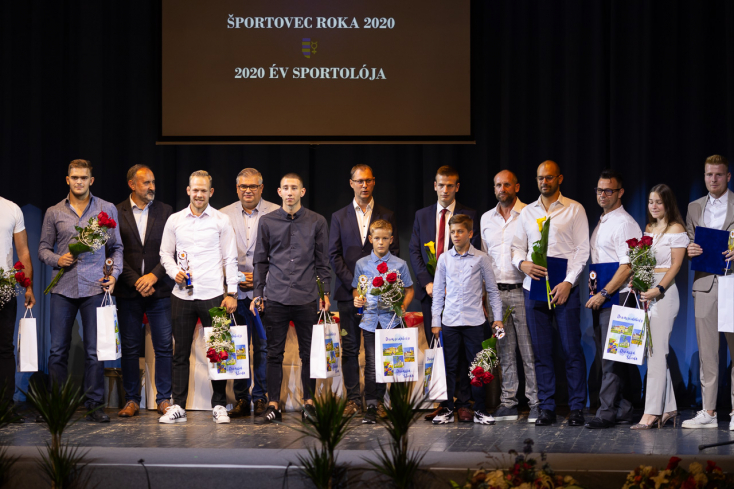 Anya és lánya az év edzője és ifjú sportolója, Kalmár Zsolt pedig a legjobb felnőtt sportoló Dunaszerdahelyen!