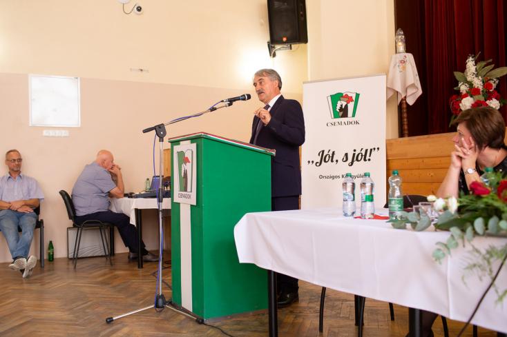 Újra Bárdos Gyula lett a Csemadok elnöke, Köteles László az általános alelnök - Fotógalériával