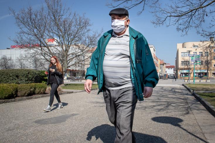 Nyugat-Szlovákia déli  járásaiban is magasabb a COVID-19 súlyosabb lefolyásának kockázata