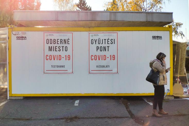 Százhoz közeli új fertőzött a Dunaszerdahelyi járásban, a Pozsonyiban majdnem elérte a 400-at!